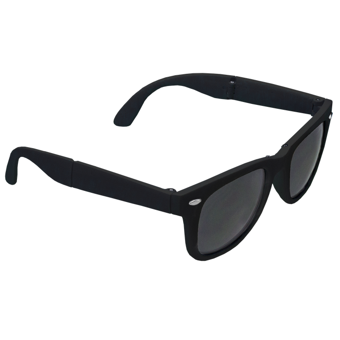 Black Reno Folding Sunglasses