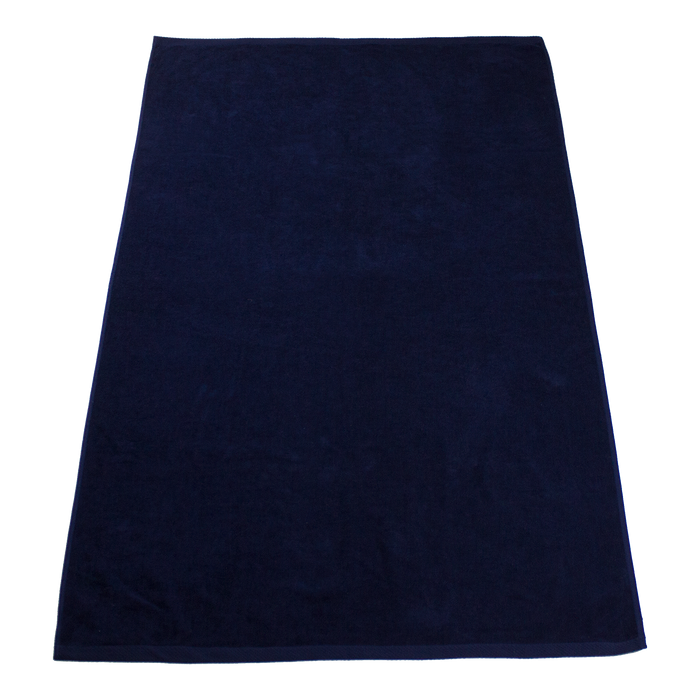 Navy Seascape Color Beach Towel