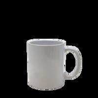Light Gray Classic Coffee Mug Thumb