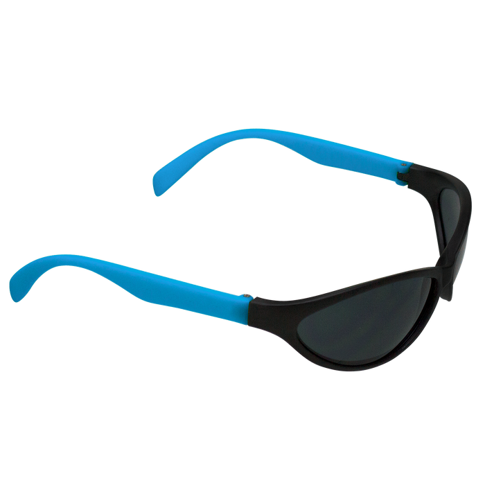 Neon Blue Value Sport Sunglasses