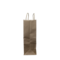 Small Kraft Paper Shopper Bag Thumb