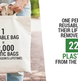 Don't Choose Paper or Plastic! Choose Reusable!