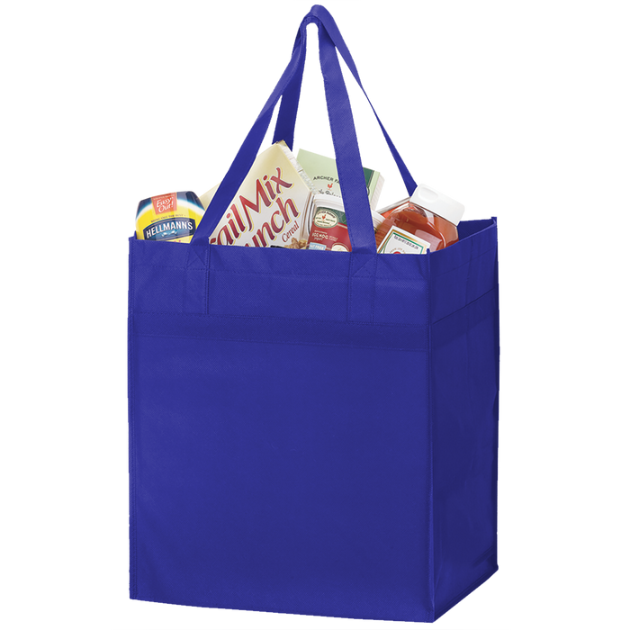 Royal Blue Big Tex Grocery Bag