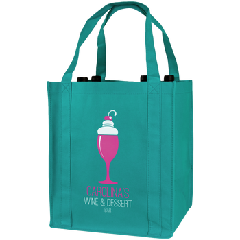Wine & Dine Reusable Tote Bag
