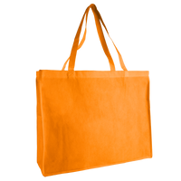 Orange Convention Tote Plus Thumb