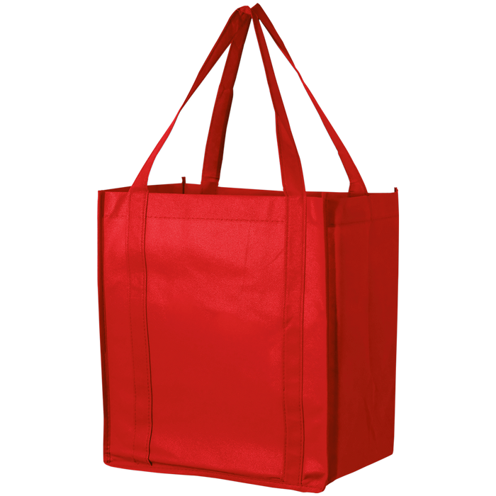 Red Thrifty Grocery Tote