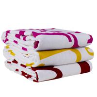 Catalina White Beach Towel Thumb