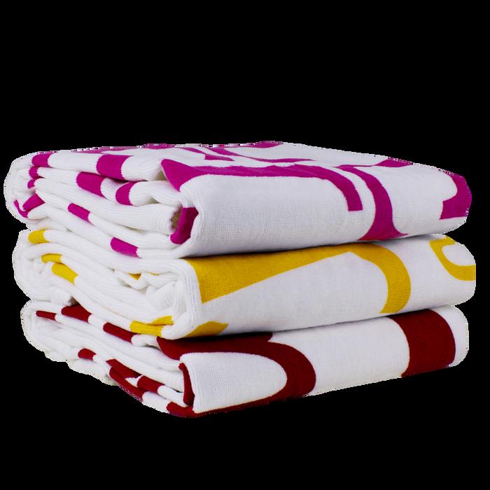 Catalina White Beach Towel