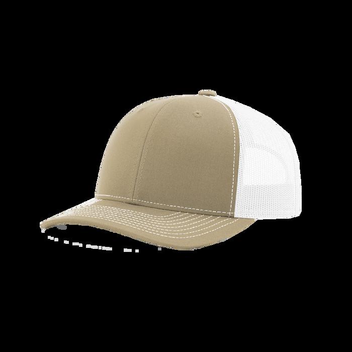 Khaki/White Richardson Trucker Snapback Hat