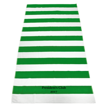 embroidered beach towels,  striped beach towels,