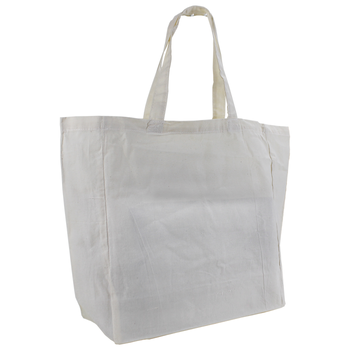 Natural Cotton Canvas Express Tote