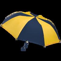 Navy/Gold Classic Umbrella Thumb