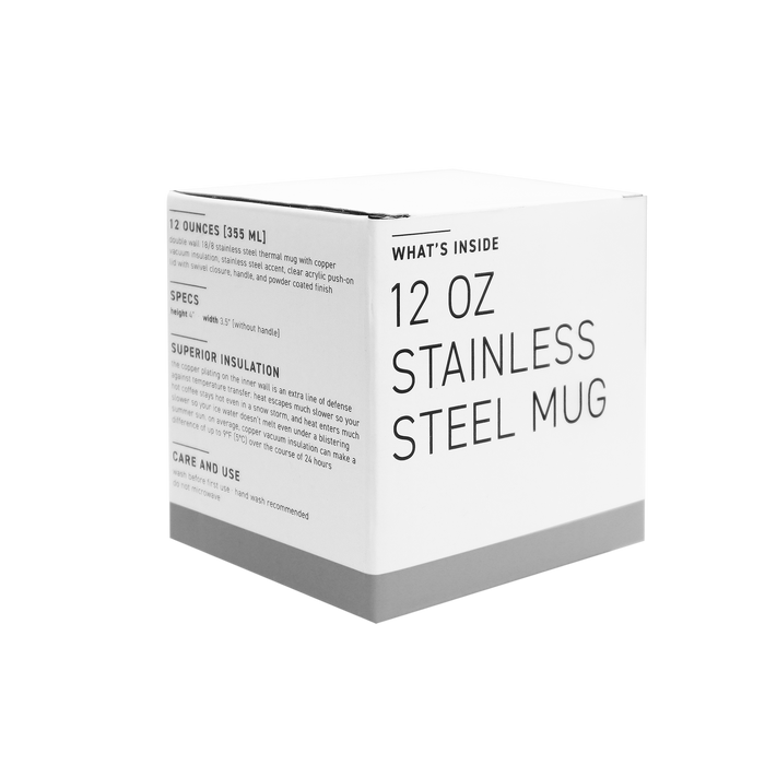 Stainless Steel Insulated Camper Mug