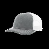 Heather Grey/White Richardson Trucker Snapback Hat Thumb