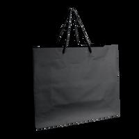 Black Medium Matte Shopper Bag Thumb