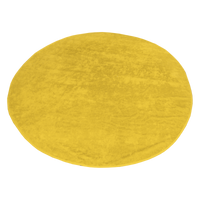 Yellow Classic Color Round Beach Towel Thumb