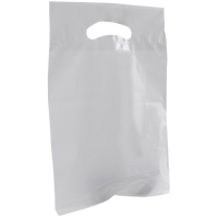Clear Small Die Cut Plastic Bag Thumb