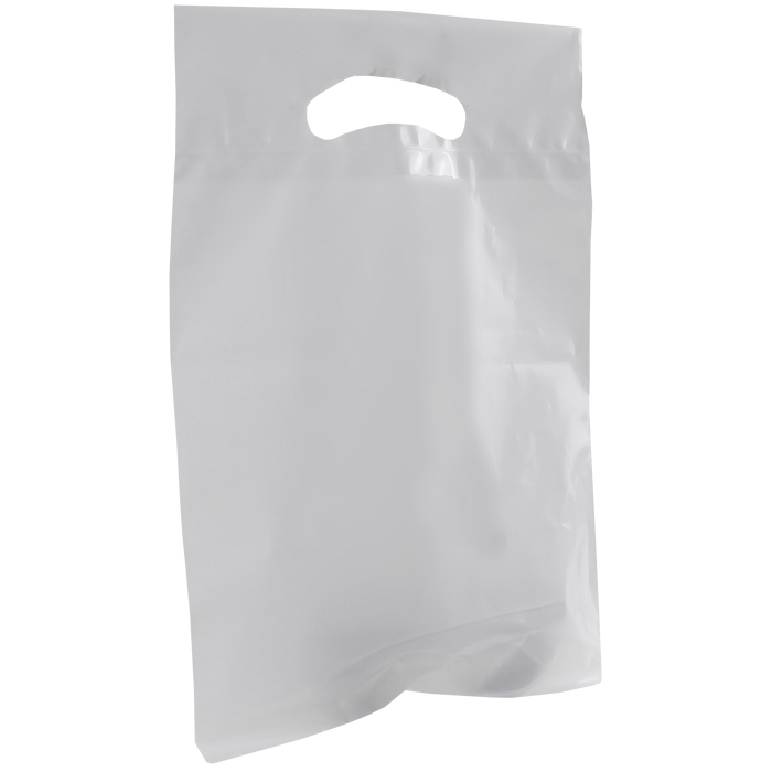 Clear Small Recyclable Die Cut Plastic Bag