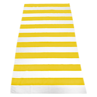 Yellow Santa Maria Striped Beach Towel Thumb