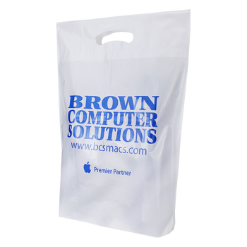 Extra Large Eco-Friendly Die Cut Plastic Bag