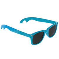 Light Blue Panama Bottle Opener Sunglasses Thumb
