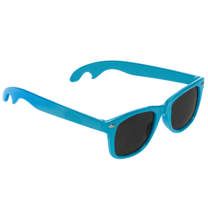 Light Blue Panama Bottle Opener Sunglasses