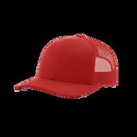 Red Richardson Trucker Snapback Hat Thumb