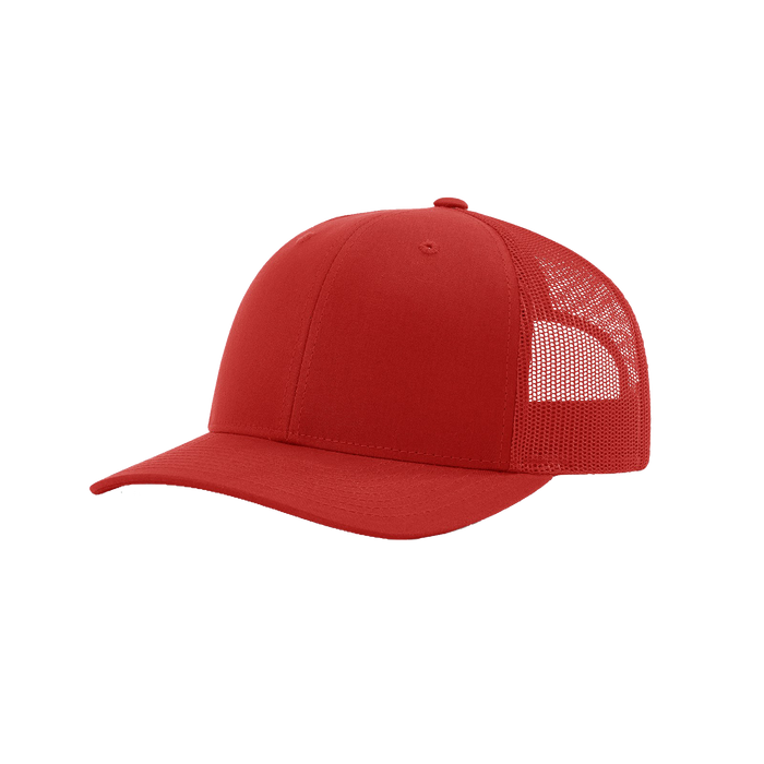 Red Richardson Trucker Snapback Hat