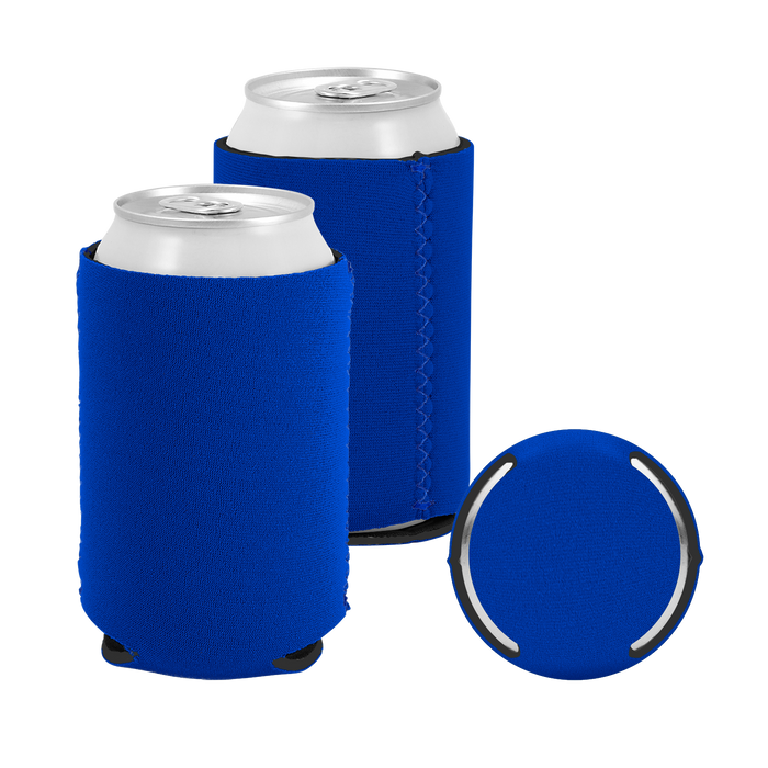Royal Blue Premium Collapsible Neoprene Koozie