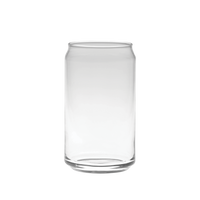 Clear Beer Can Glass Thumb