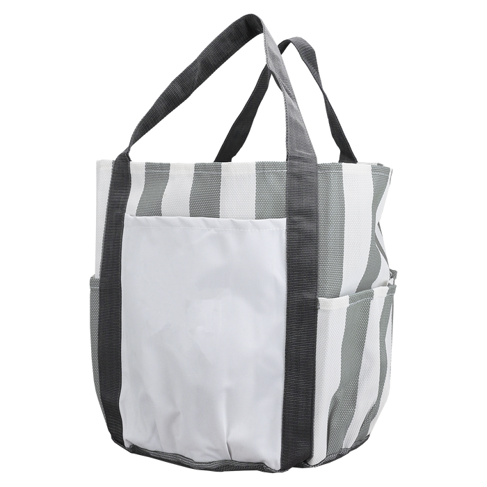 Grey Archipelago Beach Bag