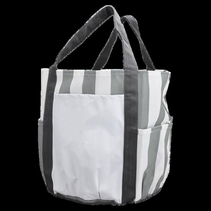 Grey Archipelago Beach Bag