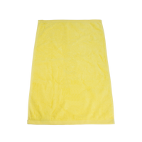 Yellow Ultraweight Colored Fitness Towel Thumb