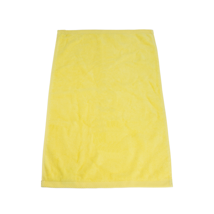 Yellow Ultraweight Colored Fitness Towel
