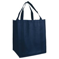 Navy Blue Wine & Dine Reusable Tote Bag Thumb