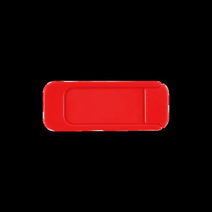 Red Sliding Webcam Cover