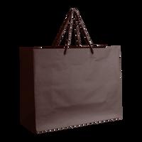 Chocolate Medium Matte Shopper Bag Thumb
