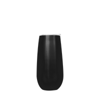 Black Stainless Steel Champagne Flute Thumb