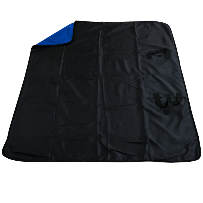 Royal Blue Traveler Fleece Picnic Blanket