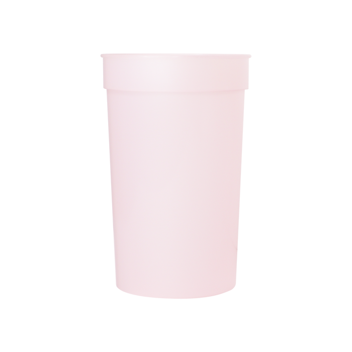 Pink Color Changing Stadium Cup