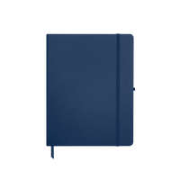 Navy Blue Medium Soft Faux Leather Journal Thumb