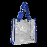 Blue Standard Vinyl Tote Bag Thumb