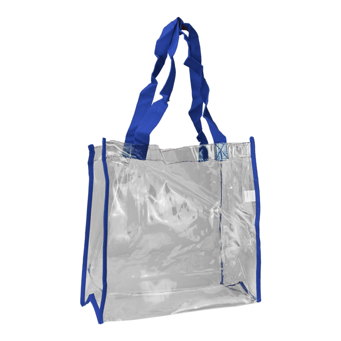 Blue Standard Vinyl Tote Bag