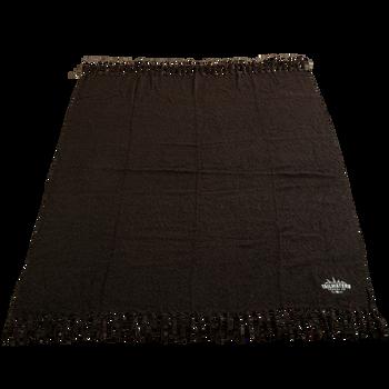 Fringed Woven Throw Blanket