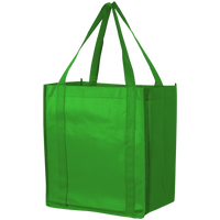 Lime Green Thrifty Grocery Tote Thumb