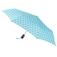 Aqua/French Circle Aquarius totes® Umbrella Thumb