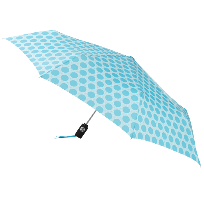 Aqua/French Circle Aquarius totes® Umbrella
