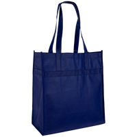 Navy Blue Little Tex Grocery Bag Thumb