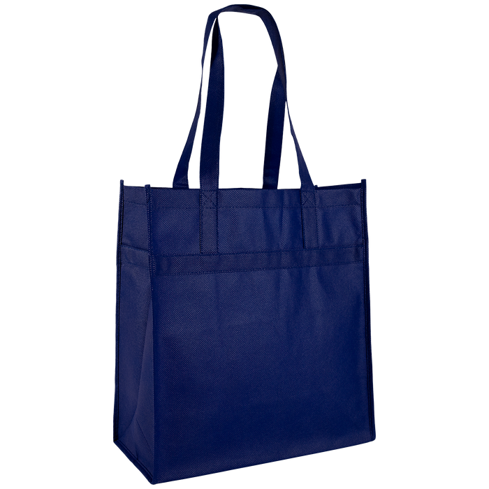 Navy Blue Little Tex Grocery Bag