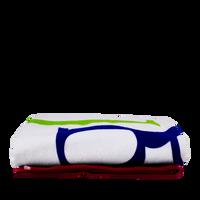 Colored Edge Beach Towel Thumb